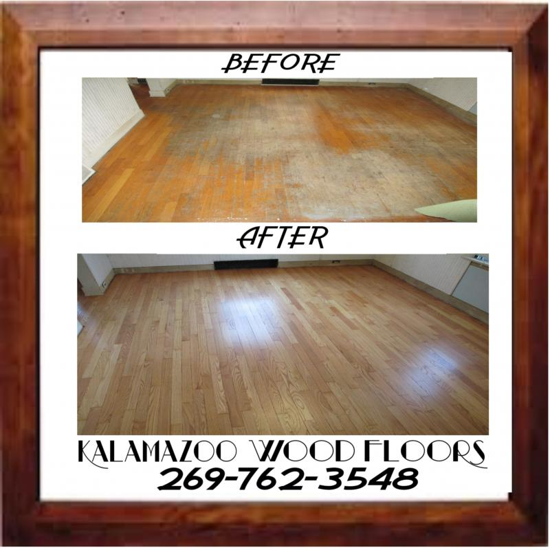 Wood Floor Refinishing at its finest!